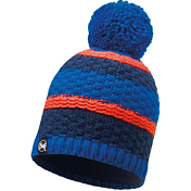 Шапка Buff KNITTED & POLAR HAT FIZZ BLUE SKYDIVER