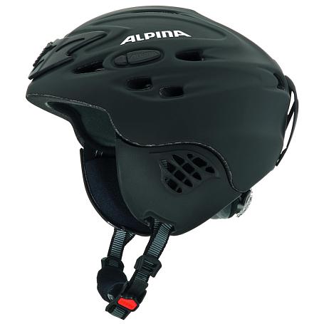 Купить Зимний Шлем Alpina ALL MOUNTAIN SCARA black silk matt Шлемы для горных лыж/сноубордов 1131054