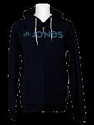 Толстовка сноубордическая Jones 2015-16 BASIC ZIP HOODY BLACK IRIS