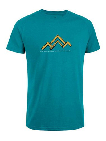 Футболка для активного отдыха Salewa Outdoor PARITY CO M S/S TEE teal