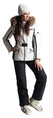 Купить Куртка горнолыжная DESCENTE 2013-14 JADA SPW/BK Одежда 1021670