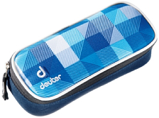 Пенал Deuter School Pencil Case blue arrowcheck