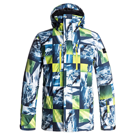 Купить Куртка сноубордическая Quiksilver 2017-18 MISSION PR JK M SNJT GGP7 SULPHUR SPRING POW MOUNTAIN Одежда 1354499