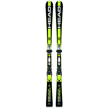 Горные лыжи с креплениями HEAD 2014-15 Racing WC Rebels  iSL  SW SFP13 + FREEFLEX PRO 14 BR.78D black