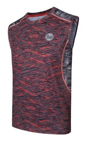 Купить Майка беговая BUFF 1082 SLEEVLESS T-SHIRT IC (MOONLESS) т. серый Одежда для бега и фитнеса 882945