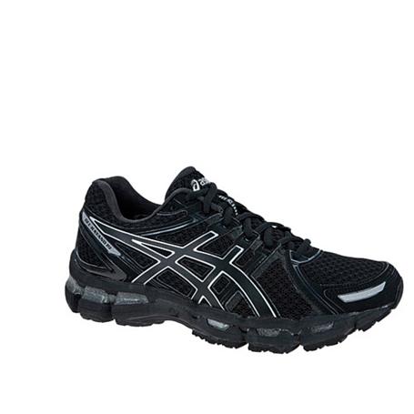 Купить Беговые кроссовки элит Asics 2013-14 GEL-KAYANO 19 черный/темно-серый/серебристый Кроссовки для бега 918394
