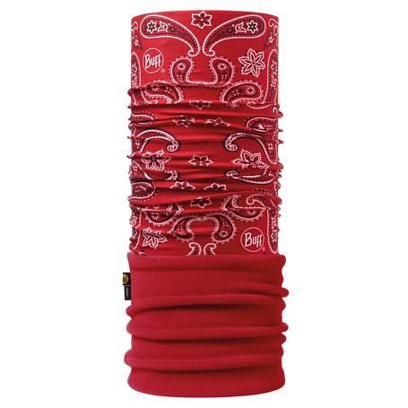 Купить Бандана BUFF Polar Buff CASHMERE RED / SAMBA/OD Банданы и шарфы ® 1343579