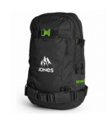 Рюкзак Jones 2016-17 BACKPACK FURTHER 24L BLACK/GREEN