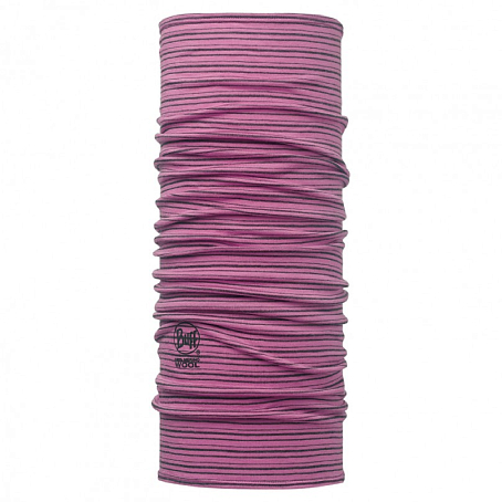 Купить Шарф BUFF Wool Patterned & Dyed Stripes MERINO WOOL IBIS ROSE STRIPES Банданы и шарфы Buff ® 1263394