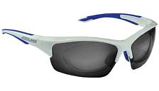 Очки солнцезащитныеОчки солнцезащитные<br>Необходимые, практичные и комфортные очки для тех, кто пользуется корректирующей оптикой. Раздельные сменные линзы с большой площадью для защиты от встречных потоков воздуха. Оправа из гриламида TR90 и вставки из резины Megol© на всех контактных точках. Поляризованные линзы уменьшают блики и повышают чёткость. Устойчивые к царапинам линзы IDRO с водо- и пылеотталкивающей обработкой для оптимальной видимости. В комплекте сменные прозрачные линзы из поликарбоната, термоформованный защитный футляр и салфетка из микрофибры.<br><br><br>                        •<br>        Категория линз:&amp;nbsp; 0 - 2<br>        <br>            •<br>                Линзы полностью блокируют УФ(до 400 Нм)<br><br>            •<br>                Фотохромные линзы Chromolex<br><br>            •<br>                Поставляется с дополнительными сменными линзами<br><br>