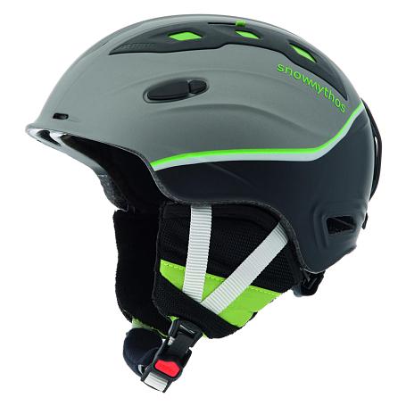 Купить Зимний Шлем Alpina ALL MOUNTAIN SNOW MYTHOS darksilver-green silk matt Шлемы для горных лыж/сноубордов 1131071