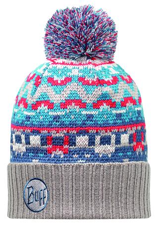 Купить Шапка BUFF KNITTED HATS IDRISS BLUE Банданы и шарфы Buff ® 1169495
