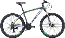 Велосипед Welt Ridge 1.0 HD 2019 matt dark grey/green