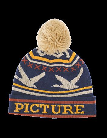 Купить Шапка Picture Organic 2015-16 DUCK BEANIE Navy, Головные уборы, шарфы, 1219489