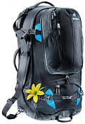 Рюкзак Deuter Traveller 60+10 SL Black/Turquoise