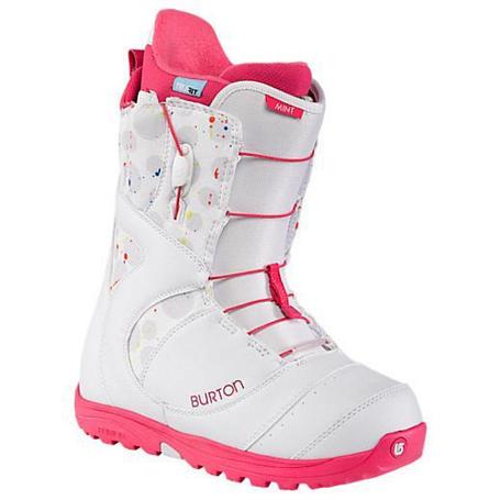 Купить Ботинки для сноуборда BURTON 2013-14 MINT WHITE PRINT 912274