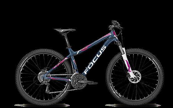 Купить Велосипед FOCUS WHISTLER 27R 4.0 DNA 2015 синий/розовый Горные спортивные 1167509