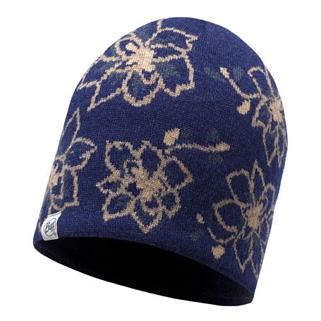Купить Шапка BUFF KNITTED & POLAR HAT ALLIE DARK DENIM Банданы и шарфы Buff ® 1351572