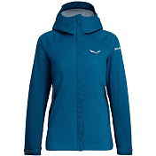 Куртка для активного отдыха Salewa 2018-19 Puez Powertex/TirolWool® Celliant® 2 Layers Women's Blue Sapphire