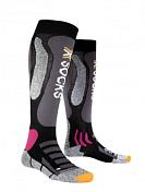 Носки X-bionic 2016-17 X-socks Ski Touring Silver Lady B117 / Черный