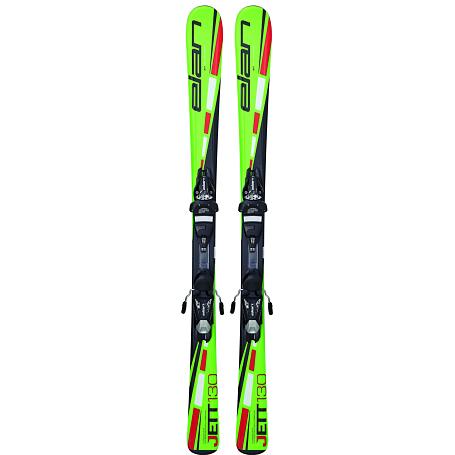 Купить Горные лыжи с креплениями Elan 2015-16 JETT QT EL 4.5 (130-150), лыжи, 1195968