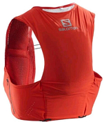 Рюкзак-жилет SALOMON 2020 S/Lab Sense Ultra 5 Set Racing Red