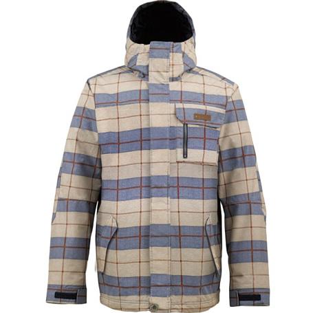 Купить Куртка сноубордическая BURTON 2013-14 MB POACHER JK PLAID STRIPE Одежда 1021885