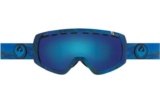 Купить Очки горнолыжные DRAGON 2015-16 ROGUE Spill / Blue Steel, Yellow Red Ion 1220925