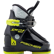 Горнолыжные ботинки FISCHER 2016-17 RC4 10 JR THERMOSHAPE - BLACK/BLACK