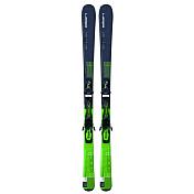 Горные лыжи с креплениямиГорные лыжи<br>6 QT- лучший инструмент для быстрого и постоянного прогресса. Технологии Parabolic Rocker и WaveFlex™ хороши на подготовленных склонах и разбитых участках трасс.Комплектация: EL 10.0<br>QT BLK/GRNГеометрия: 124/76/103Уровень катания: 3-7Трасса: 90/10Описание конструкции: Parabolic Rocker<br>WaveFlex™,<br>Full power cap,<br>Dual woodcore,<br>FibreglassРадиус бокового выреза: 13.9<br><br>Пол: Унисекс<br>Возраст: Взрослый
