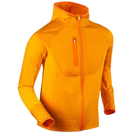Купить Жакет беговой Bjorn Daehlie 2017-18 Full Zip Sweater Wmn Golden Sun, Одежда для бега и фитнеса, 1341112