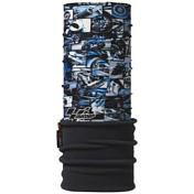 БанданаАксессуары Buff ®<br>Polar Buff представляет собой многофункциональный аксессуар для любого наряда, который хорошо работает в любых погодных условиях. Cделан из микроволокна stitchless с помощью которого держится адекватная температура тела, независимо от того, светит солнце, дует сильный ветер, или это мороз.<br>Технология Polygiene позволяет влаге испаряться с внешней стороны. Модель включает в себя специальный Polartec Classic 100 рукав, который обеспечивает еще лучшую защиту от холода, снега и ветра.<br>Может использоваться как шапка, платок, вязаный шлем, маска, шарф и т.д.