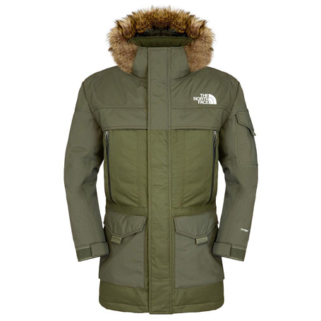 Куртка туристическая THE NORTH FACE 2015-16 M MCMURDO PARKA 2 EU  BURNT OL GREE BURNT/GREE / зеленый
