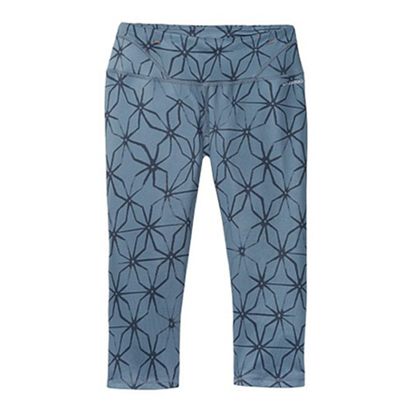 Купить Тайтсы 3/4 беговые BROOKS 2016 Infiniti Capri III Одежда для бега и фитнеса 1254046