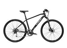 ВелосипедГибриды (город/парк)<br>Городской кроссовый велосипед Trek 8.4 DS 2016. Trek 8.4 DS 2016 очень удобен для перемещений по городским улицам и велопрогулок в парках.<br> <br> Рама и амортизаторы<br> <br> РамаAlpha Gold Aluminum<br> <br> Цепная передача<br> <br> МанеткиShimano Alivio, 9 speed<br> Передний переключательShimano Alivio<br> Задний переключательShimano Deore<br> ШатуныShimano Acera M371, 48/36/26 w/chainguard<br> КассетаSRAM PG-950 11-32, 9 speed<br> ПедалиNylon body w/alloy cage<br> <br> Колеса<br> <br> ОбодаShimano RM35 center lock alloy hubs w/Bontrager AT-650 32-hole double-walled rims<br> ПокрышкаBontrager LT3, 700x38c<br> <br> Компоненты<br> <br> Передний тормозShimano M395 hydraulic disc brakes<br> Задний тормозShimano M395 hydraulic disc brakes<br> ГрипсыBontrager Satellite Elite, lock-on, ergonomic<br> РульBontrager Low Riser, 31.8mm, 15mm rise<br> ВыносBontrager SSR, 31.8mm, 10 degree<br> Рулевая колонкаSemi-integrated, semi-cartridge bearings, sealed<br> СедлоBontrager Evoke 1<br> Подседельный штырьBontrager SSR,12mm offset<br><br>Пол: Мужской<br>Возраст: Взрослый