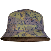 Панама Buff Bucket Hat Kids Camp Khaki
