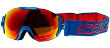 Очки горнолыжныеОчки горнолыжные<br>Технологичная маска со сферической термоформованной линзой. Отличный угол обзора. Благодаря шарнирному механизму в местах крепления маски к стрепу, совместима со многими шлемами и отлично садится. Линза с зеркальным напылением<br><br>Пол: Унисекс<br>Возраст: Взрослый