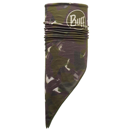 Купить Бандана BUFF BANDANA Polar POLAR CAMOATINS / OLIVE NIGHT Банданы и шарфы Buff ® 1079414