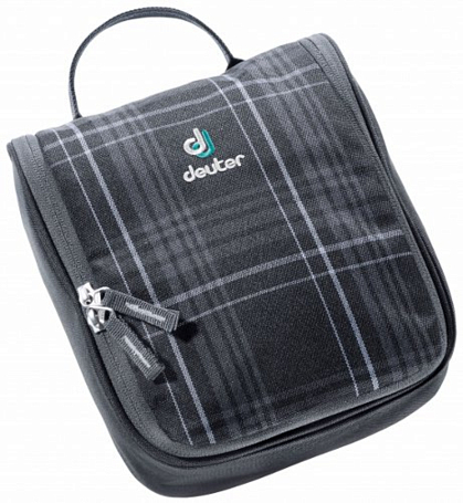 Косметичка Deuter Wash Center I black check