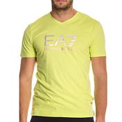 Футболка Для Активного Отдыха Ea7 Emporio Armani 2016 Man's Knit Jersey Acid Lime