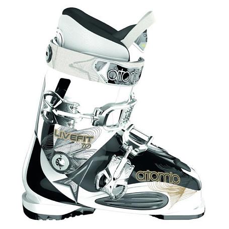 Купить Горнолыжные ботинки ATOMIC 2013-14 Live Fit 70 W SOLID WHITE/SO Ботинки горнoлыжные 902604