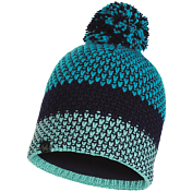 Шапка Buff KNITTED & POLAR HAT TILDA CURAÇAO BLUE