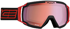 Очки горнолыжные Salice 2020-21 618DARWF Black-Red/RW Radium