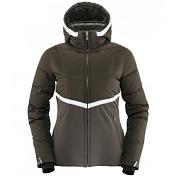 Куртка горнолыжная Killy 2014-15 SLIMWAIST DOWN W JKT Deep Forest/чёрный