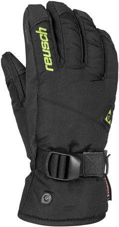 Перчатки горные REUSCH 2015-16 Nosepress R-TEX XT black / neon green