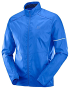 Куртка беговая SALOMON 2019 Agile Wind Jkt M Nautical Blue