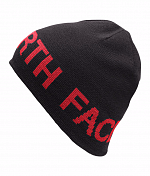 Шапка THE NORTH FACE 2016-17 RE TNF BANNER BEANIE TNFBLACK/TNFRED