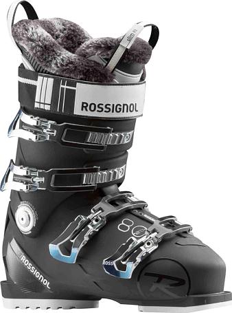 Купить Горнолыжные ботинки ROSSIGNOL 2017-18 PURE PRO 80 BLACK Ботинки горнoлыжные 1363780