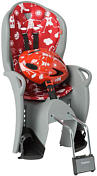 Детское велокресло Hamax 2021 Kiss Safety Package & Helmet Medium Grey/Red