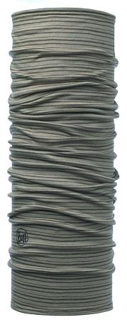 Купить Бандана BUFF LIGHTWEIGHT MERINO WOOL WALNUT BROWN STRIPES Банданы и шарфы Buff ® 1307948
